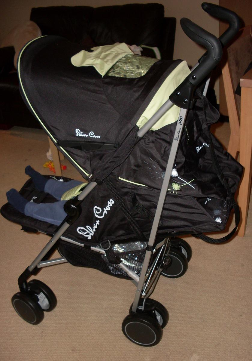 Silver Cross Pop Lightweight Stroller - Success Through Play ...