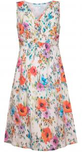 Poppy Floral Print Maternity Dress
